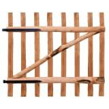 vidaXL Zahradní branka, impregnované lískové dřevo, 100x90 cm