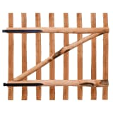 vidaXL Tvoros vartai, impregnuota lazdyno mediena, 100x90cm