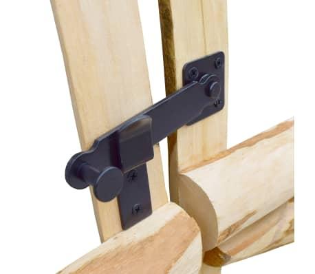 vidaXL Двойна порта, лешник, 300x150 см[5/5]