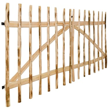 vidaXL Двойна порта, лешник, 300x150 см[4/5]