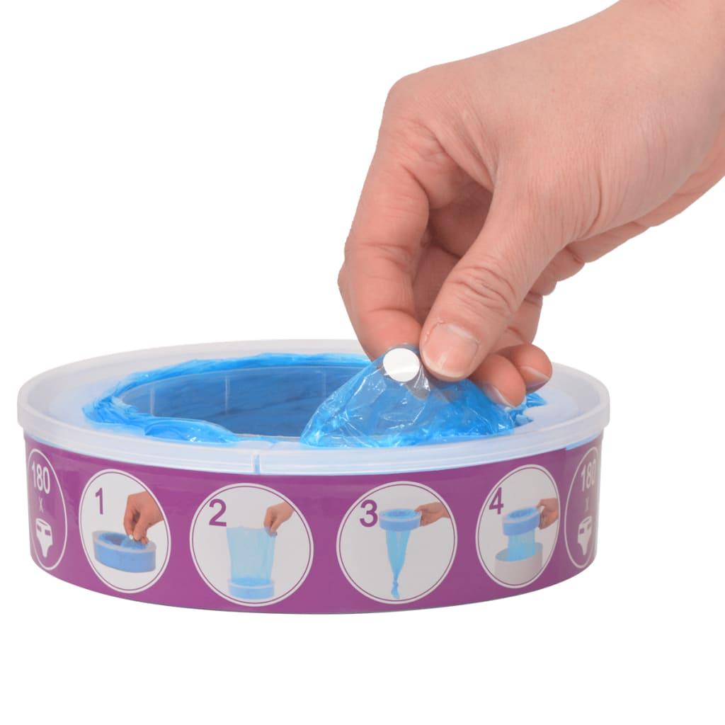 9950615 Nachfüllkassetten für Windeleimer Angelcare Diaper Genie 24 Stück