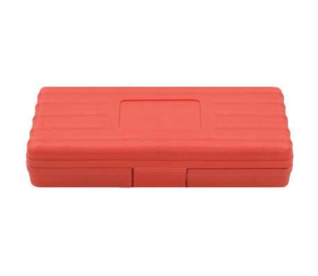 vidaXL Kit de repasador de roscas métrico 15 piezas[5/5]