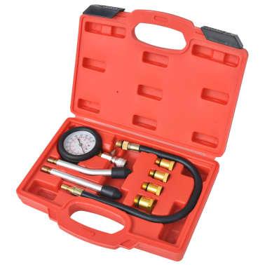 vidaXL Kit de test de compression de moteur à essence 8 pcs[1/7]