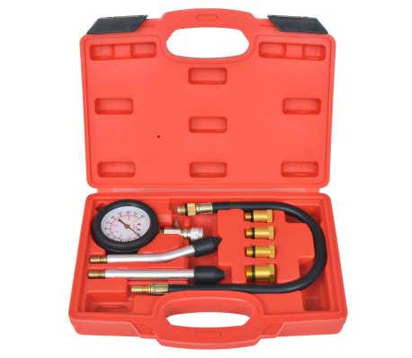 vidaXL Kit de test de compression de moteur à essence 8 pcs[2/7]