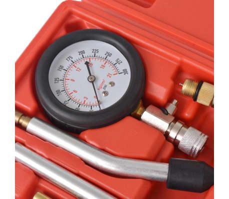 vidaXL Kit de test de compression de moteur à essence 8 pcs[5/7]