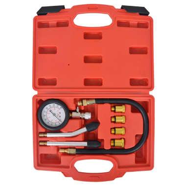 vidaXL Kit de test de compression de moteur à essence 8 pcs[3/7]