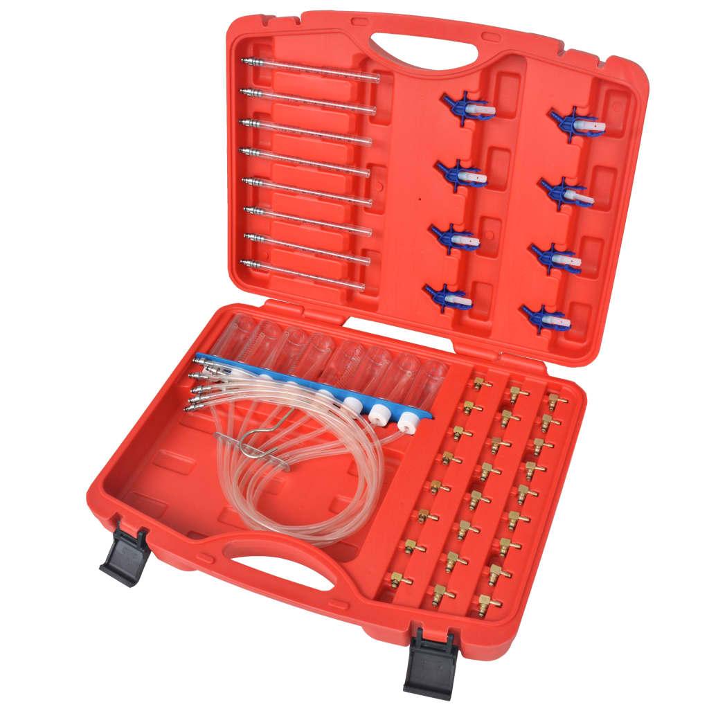 vidaXL Set debitmetru cu adaptor, motoare Diesel 8 cilindri în linie imagine vidaxl.ro