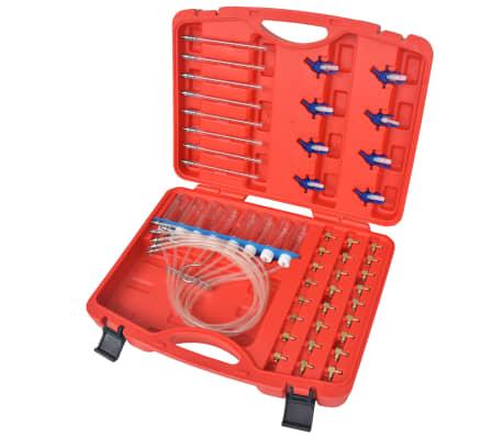 vidaXL Kit de débitmètre diesel et adaptateur Rail commun 8 cylindres