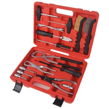 vidaXL 15-teiliger Werkzeugsatz für Bremsenwartung und Montage[1/9]