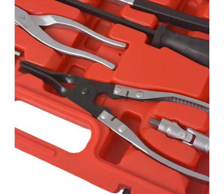 vidaXL 15-teiliger Werkzeugsatz für Bremsenwartung und Montage[6/9]