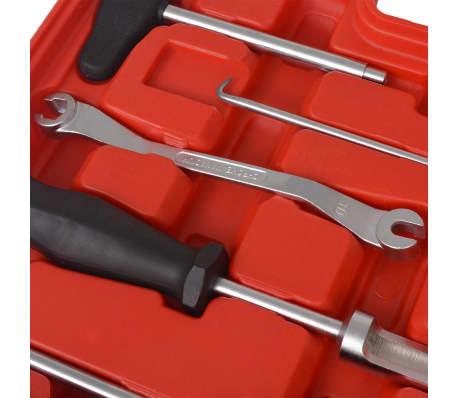 vidaXL Kit d'outils d'entretien et d'assemblage de frein 15 pcs[7/9]