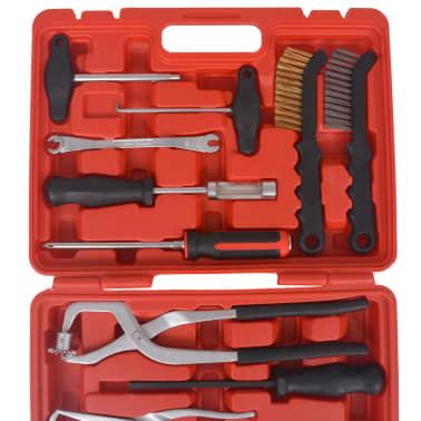 vidaXL 15-teiliger Werkzeugsatz für Bremsenwartung und Montage[3/9]