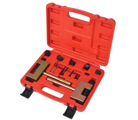 vidaXL Kit d'outils de rivetage de chaînes de distribution Mercedes[1/6]