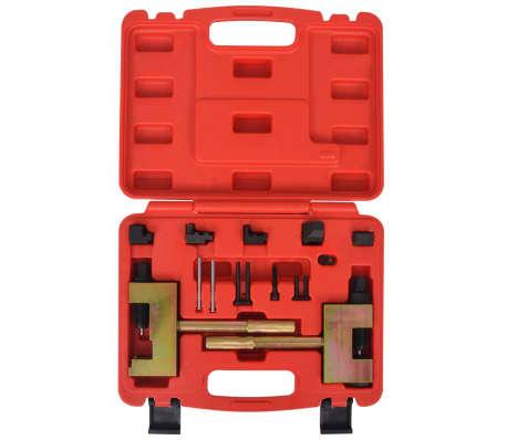 vidaXL Kit d'outils de rivetage de chaînes de distribution Mercedes[2/6]