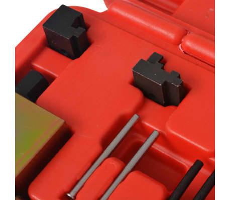 vidaXL Kit d'outils de rivetage de chaînes de distribution Mercedes[3/6]