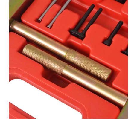 vidaXL Kit d'outils de rivetage de chaînes de distribution Mercedes[5/6]