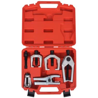 vidaXL Herramietas para reparar la parte delantera de coche 5 piezas[2/6]