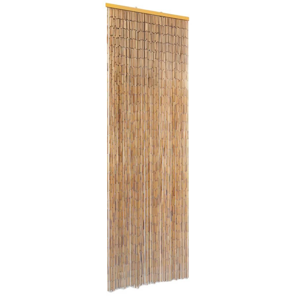 vidaXL Perdea de ușă pentru insecte, bambus, 56x185 cm imagine vidaxl.ro