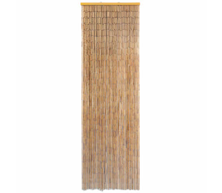 vidaXL insektgardin til døren bambus 56 x 185 cm[2/4]