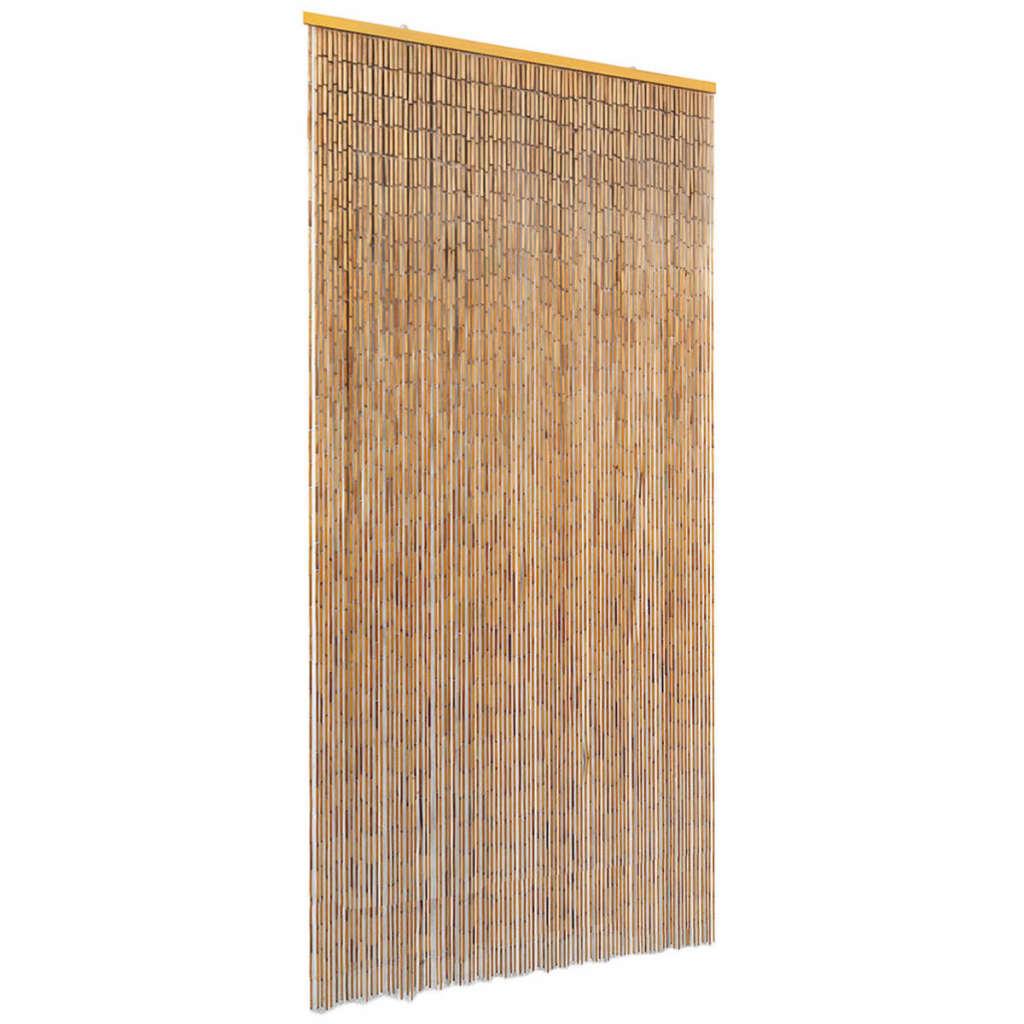 vidaXL Dveřní závěs proti hmyzu, bambus, 90x220 cm