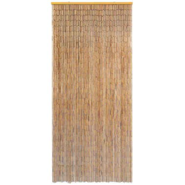 "vidaXL Insect Door Curtain Bamboo 35.4""x86.6""[2/4]"