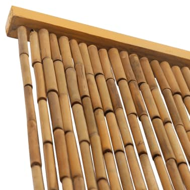 "vidaXL Insect Door Curtain Bamboo 35.4""x86.6""[3/4]"