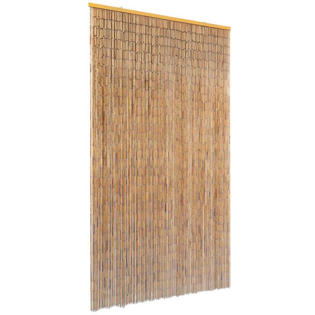 vidaXL Perdea de ușă pentru insecte, bambus, 100x200 cm imagine vidaxl.ro