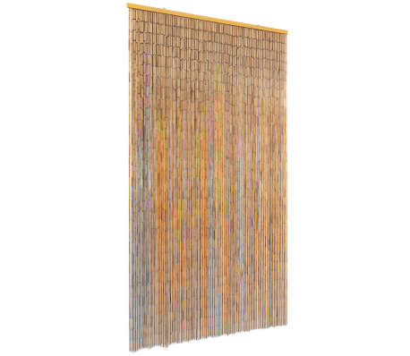 "vidaXL Insect Door Curtain Bamboo 39.4""x78.7""[1/4]"