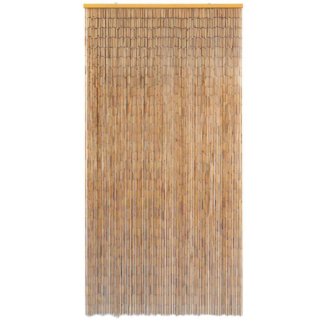 vidaXL Vliegengordijn 100x200 cm bamboe
