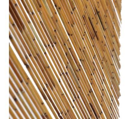 acheter vidaxl rideau de porte contre insectes bambou 100 x 200 cm pas cher. Black Bedroom Furniture Sets. Home Design Ideas