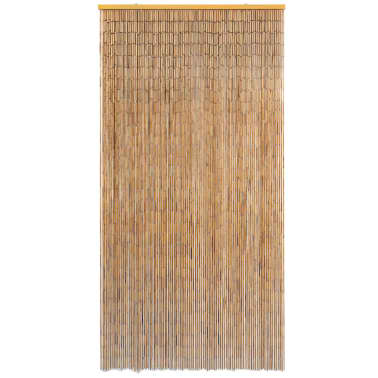 "vidaXL Insect Door Curtain Bamboo 39.4""x78.7""[2/4]"