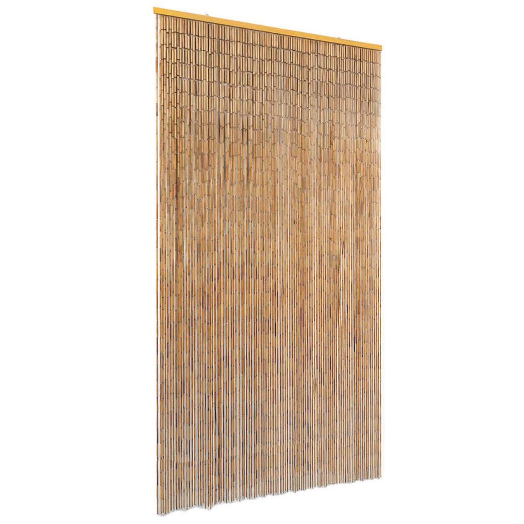 vidaXL Perdea de ușă pentru insecte, bambus, 100x220 cm imagine vidaxl.ro