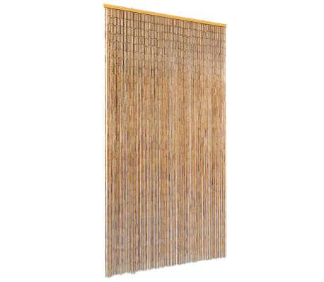 vidaXL Záves proti hmyzu do dverí, bambus 100x220 cm
