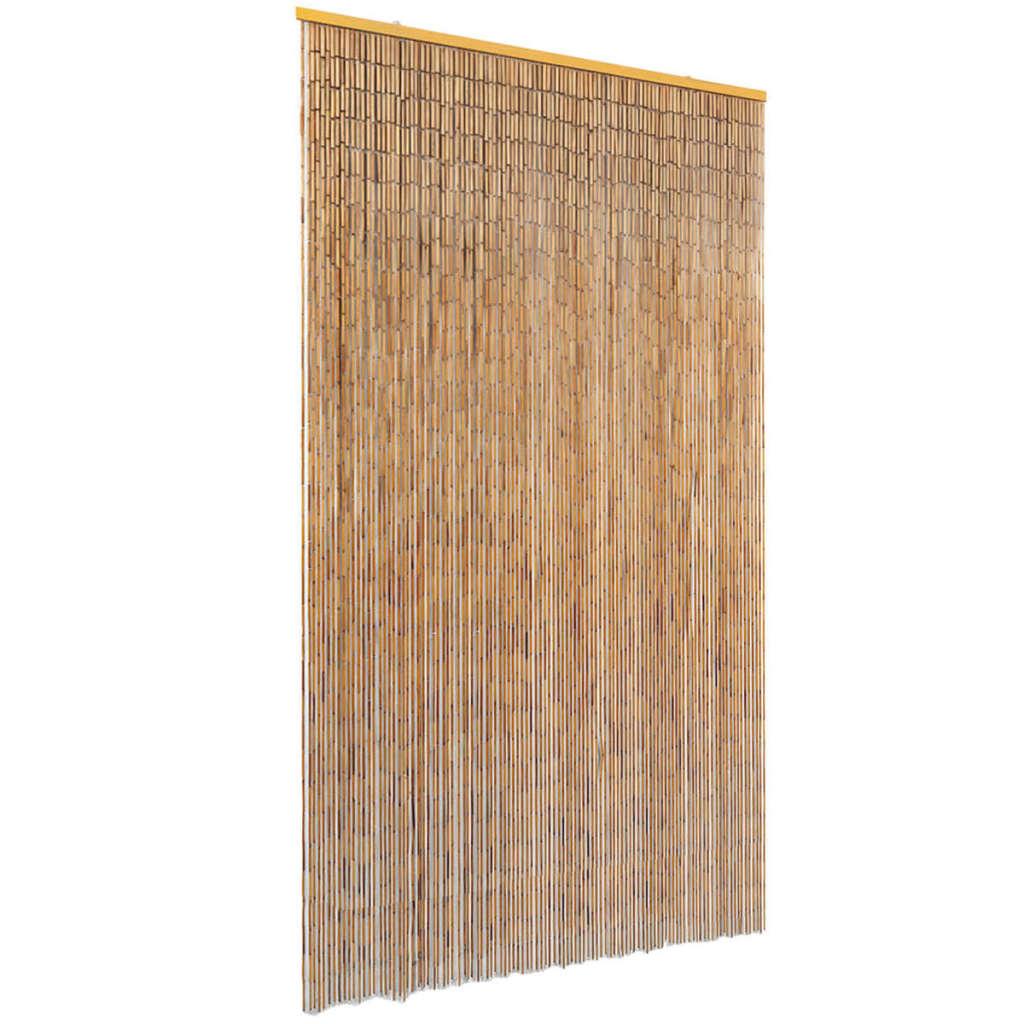 vidaXL Perdea de ușă pentru insecte, bambus, 120x220 cm imagine vidaxl.ro