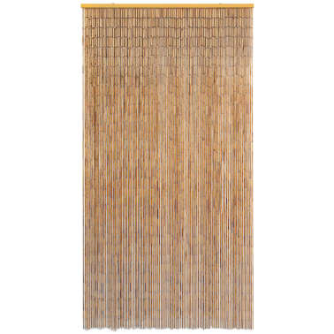 "vidaXL Insect Door Curtain Bamboo 47.2""x86.6""[2/4]"