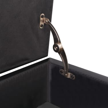 Phenomenal Vidaxl Sofa Bed With Drawers And Ottoman Black Artificial Inzonedesignstudio Interior Chair Design Inzonedesignstudiocom