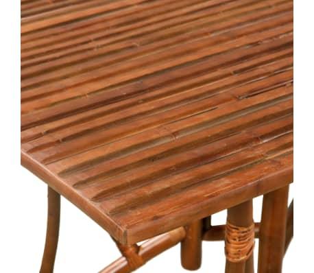 vidaXL Mobilier de salle à manger 5 pcs Bambou[5/10]