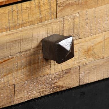 vidaXL Rašomasis stalas, perdirbta mediena, 110x50x76cm[9/14]