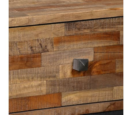 vidaXL Komoda su 6 stalčiais, masyvus perdirbtas tikmedis, 70x30x76 cm[4/15]