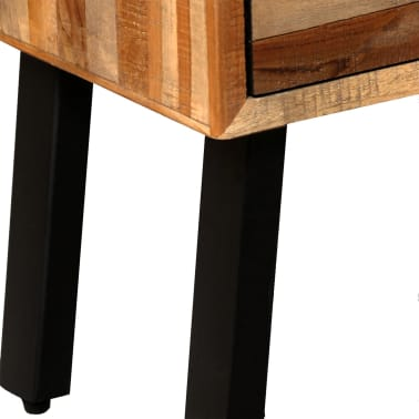 vidaXL Komoda su 6 stalčiais, masyvus perdirbtas tikmedis, 70x30x76 cm[8/15]