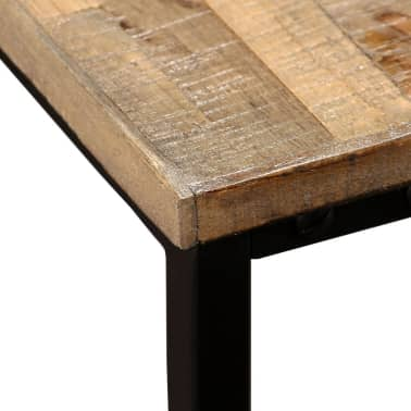 vidaXL Nesting Coffee Table Set 2 Pieces Solid Reclaimed Teak[5/15]