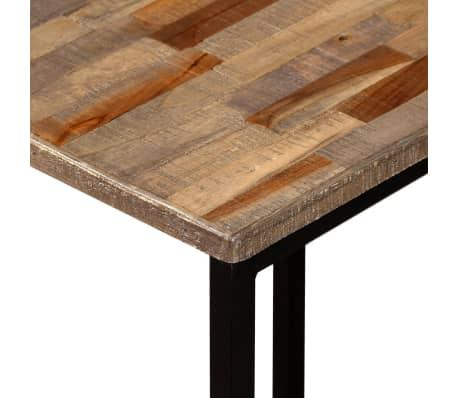 vidaXL Nesting Coffee Table Set 3 Pieces Solid Reclaimed Teak[6/18]