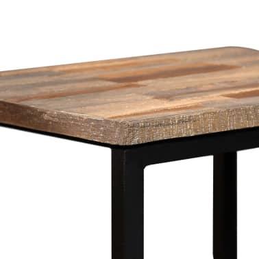 vidaXL Nesting Coffee Table Set 3 Pieces Solid Reclaimed Teak[5/18]