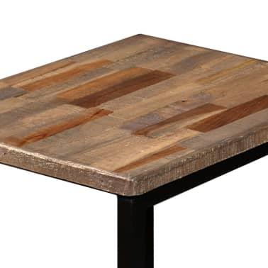 vidaXL Nesting Coffee Table Set 3 Pieces Solid Reclaimed Teak[7/18]