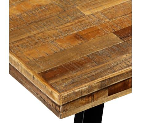 Acheter vidaXL Table de salle à manger Teck recyclé et acier 180 x ...