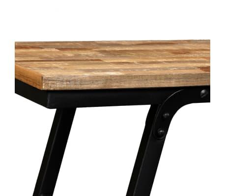 vidaXL TV stolek z recyklovaného teaku 110 x 35 x 30 cm[5/13]