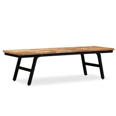 vidaXL TV stolek z recyklovaného teaku 110 x 35 x 30 cm[13/13]