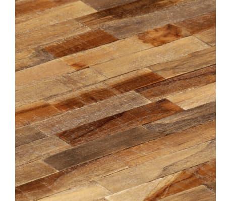 vidaXL Salontafel ovaal 120x60x30 cm massief gerecycled teakhout[9/14]