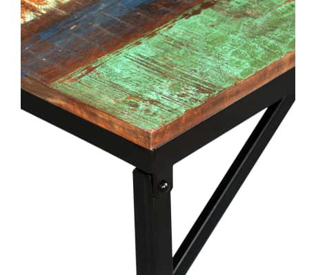 vidaXL Suoliukas, masyvi perdirbta mediena, 110x35x45cm[4/12]