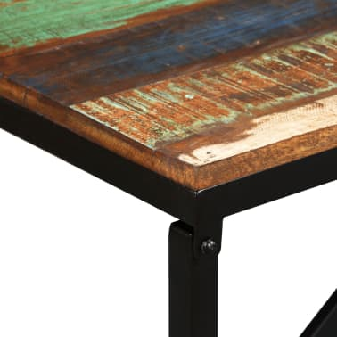 vidaXL Suoliukas, masyvi perdirbta mediena, 110x35x45cm[5/12]